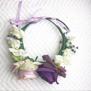 Other - Kenzie Jaws Lt & Dk Purple 6mo-Adult Flower Crown